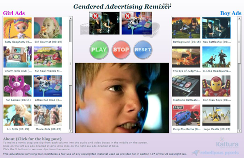 The Gendered Ads Remixer