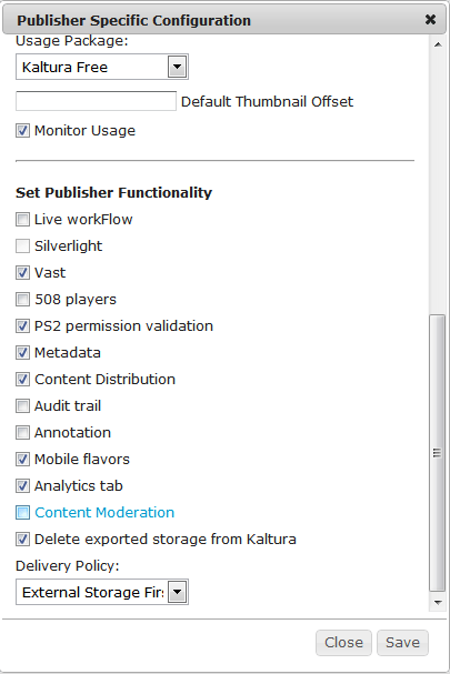 Enabling content moderation on CE4 admin console