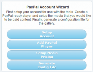 Kaltura Paid-Content Gallery - Account Wizard