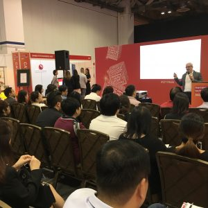 reaching millennials with video at Learning Technologies Asia.