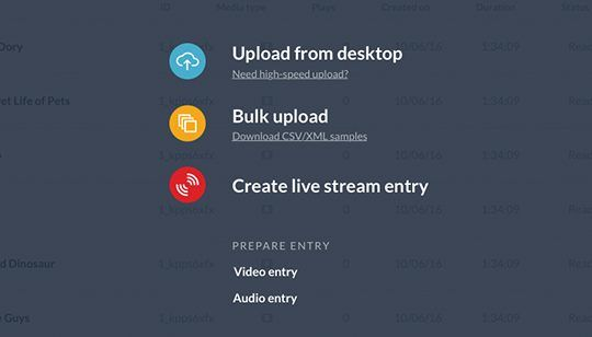 Video Upload and Ingestion