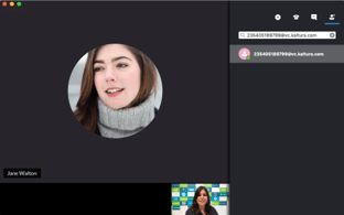 intergrating webcasting with video conferencing