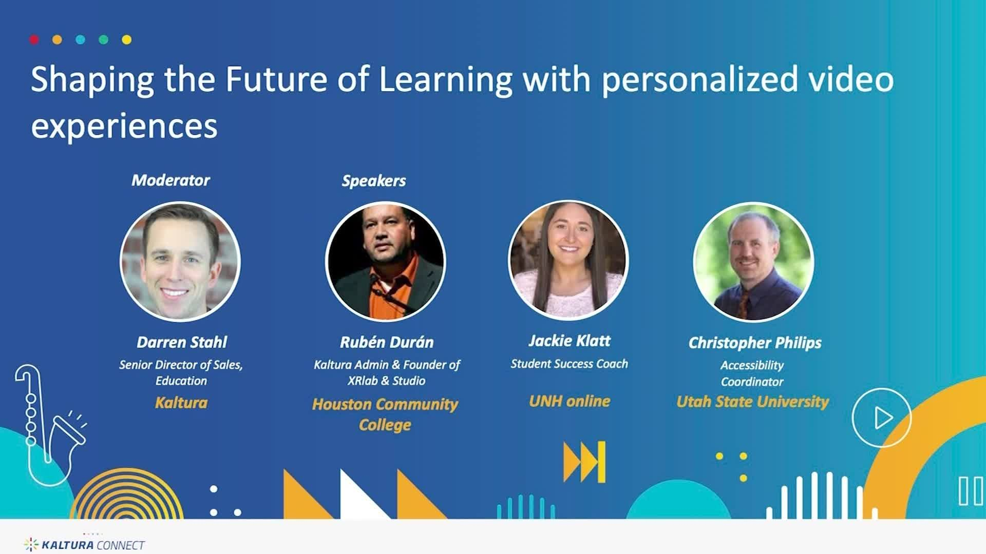 Shaping the Future of Learning with Personalized Video Experiences
