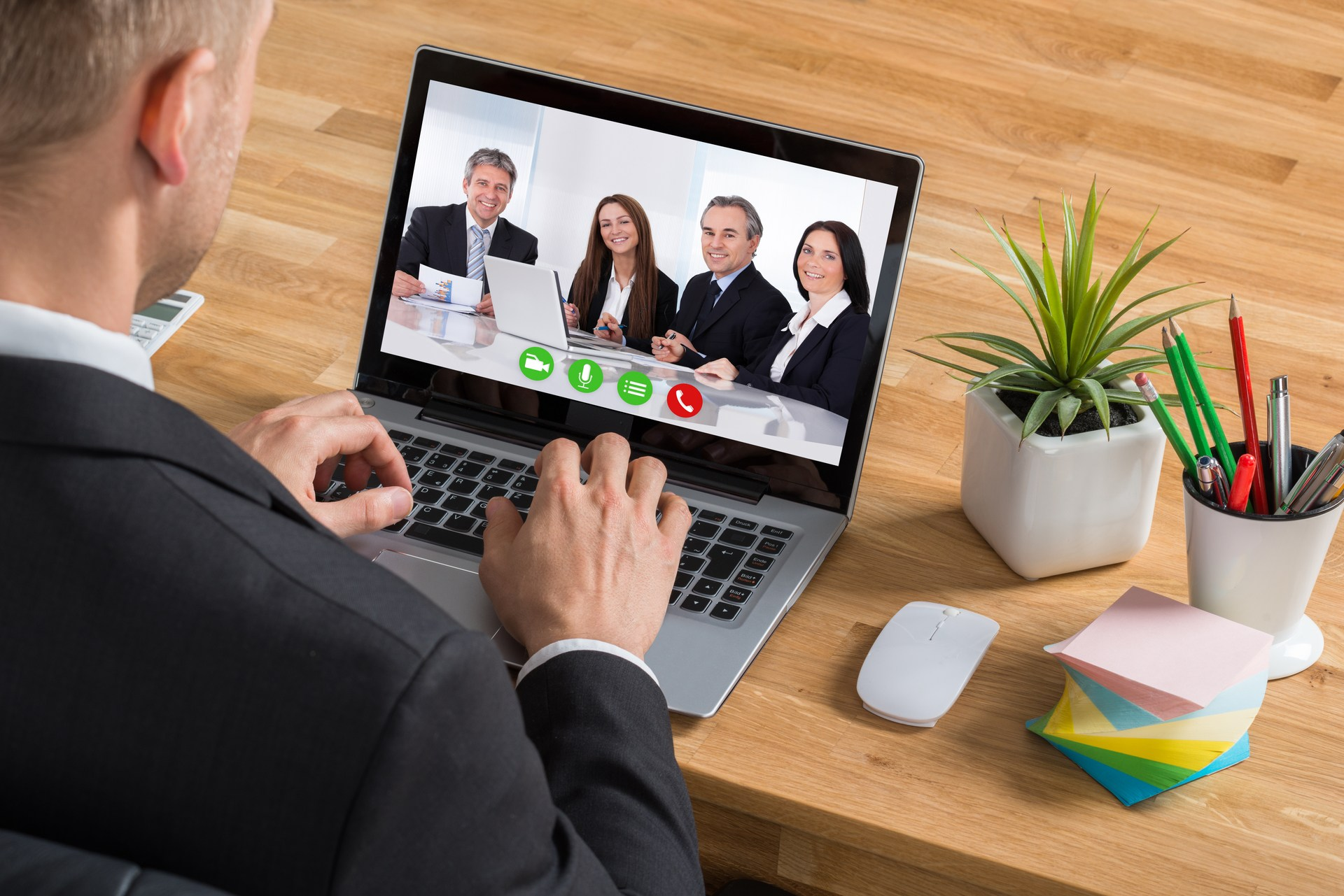 online conferencing meeting