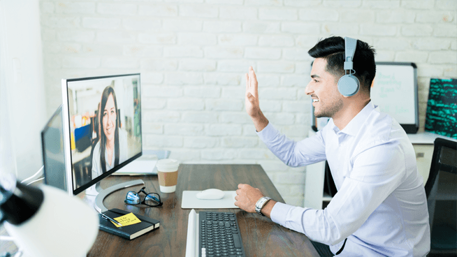 difference between virtual conferences webinars and town hall webcasts