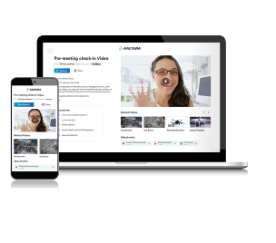 video emails for meetings and onboarding